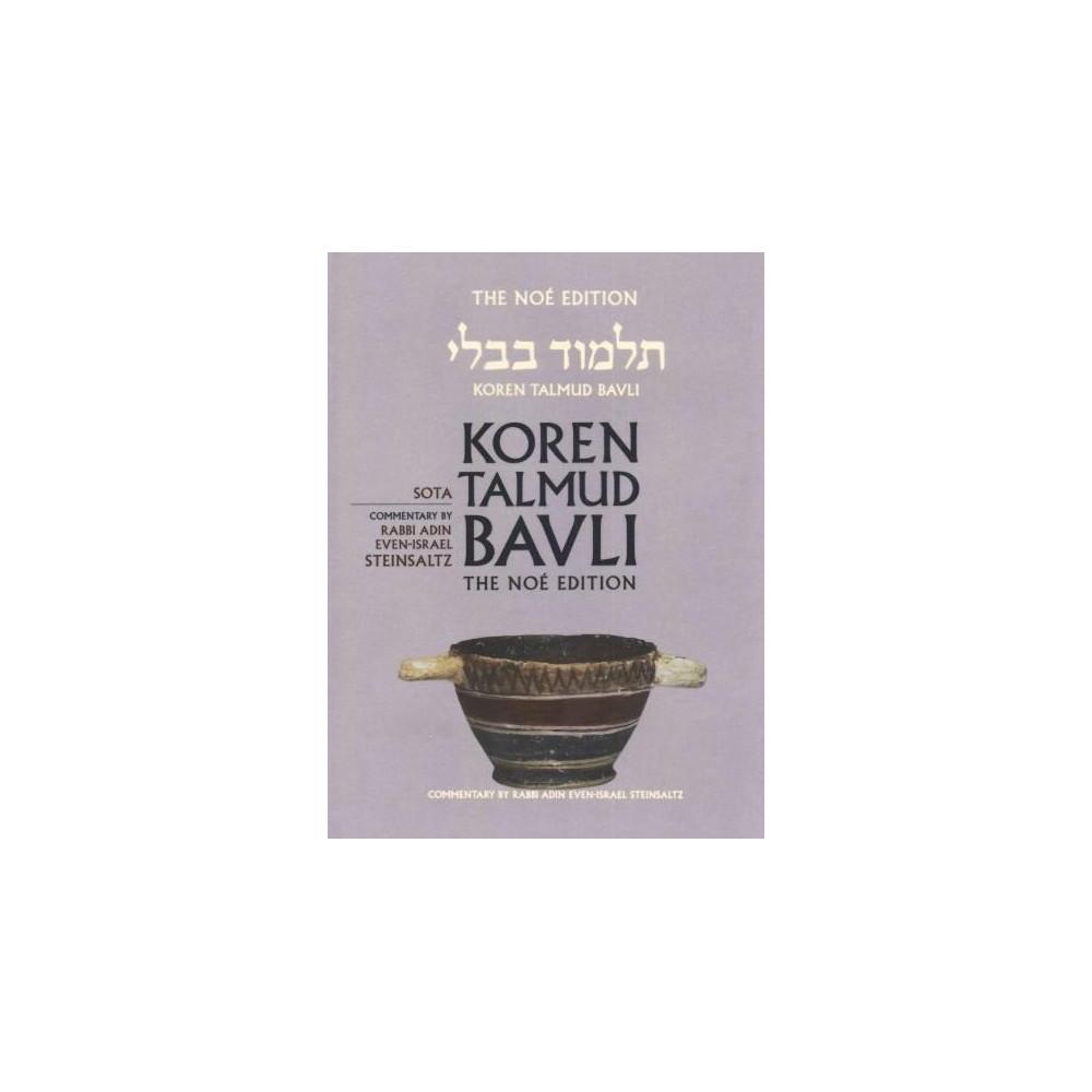 Sota : Large, Color Edition (Vol 20) (Bilingual) (Hardcover) (Adin Steinsaltz)
