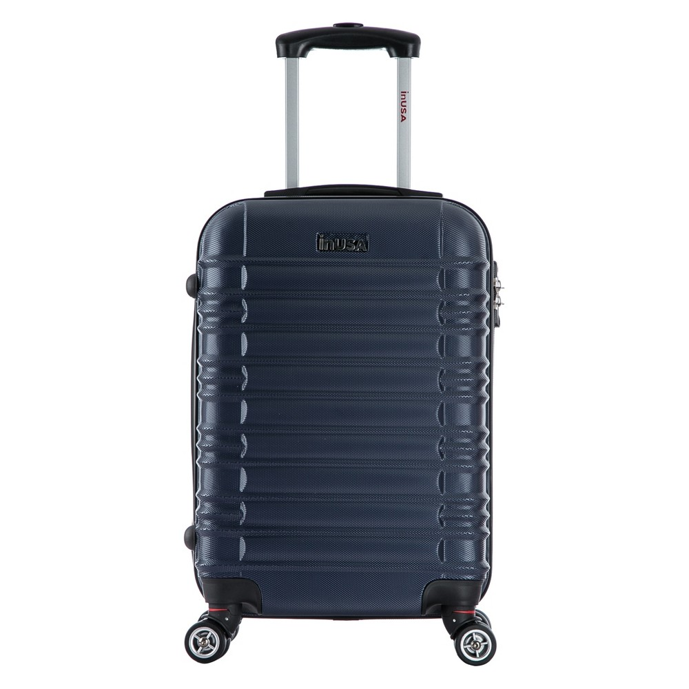 InUSA New York 20 Hardside Spinner Suitcase - Navy Blue, Classic Navy