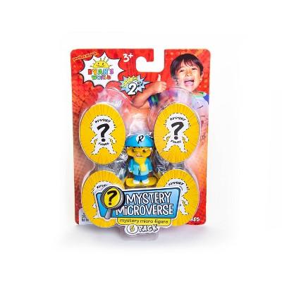 Ryan's World Mystery Microverse Mystery Micro Figure - 5pk