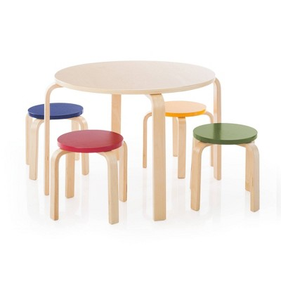 5pc Kids' Table and Stools Set - Guidecraft