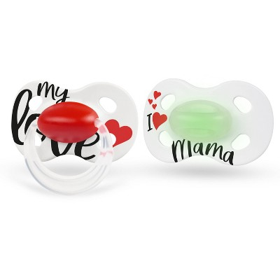 Medela Baby My Love Day-Night Pacifier - 6-18 Months 2pk