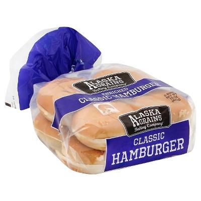 Alaska Grains Hamburger Bun - 15oz/8ct