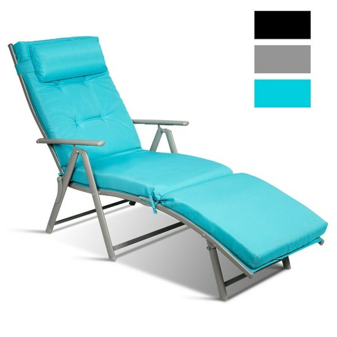Costway Outdoor Folding Chaise Lounge, Chaise Lounge Chairs Outdoor Target