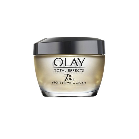 Olay Total Effects Night Firming Facial Moisturizer Treatment - 1.7 fl oz - image 1 of 4