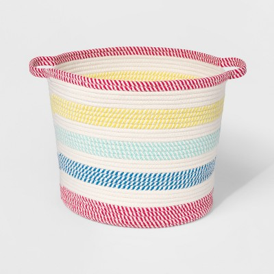 Round Braided Rope Basket - Pillowfort™