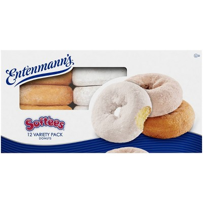 Entenmann's Softee Variety Donuts - 17.5oz