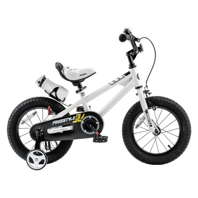 RoyalBaby Freestyle 16  Bike - White