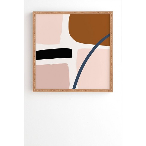 Iveta Embrace Framed Wall Art - Deny Designs - image 1 of 4