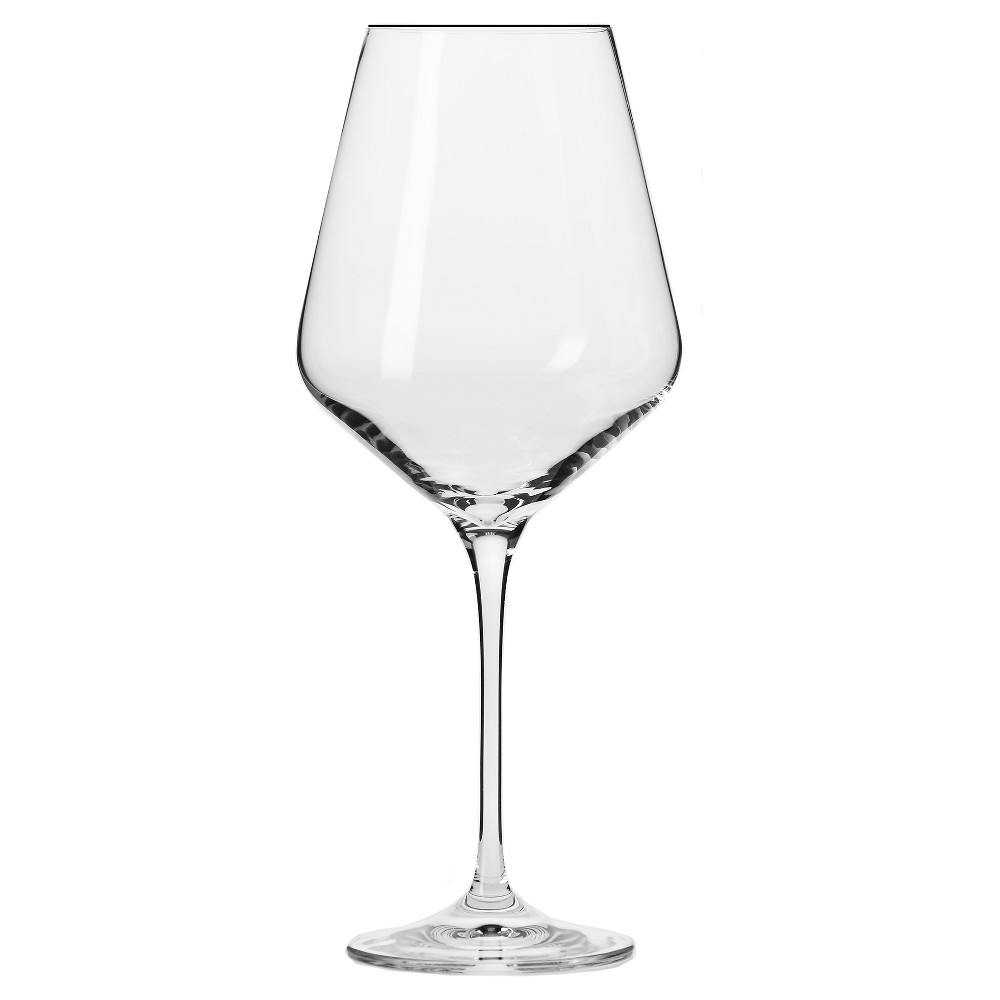 Image of KROSNO Vera Large Wine Glasses 16oz. Set of 6, Clear