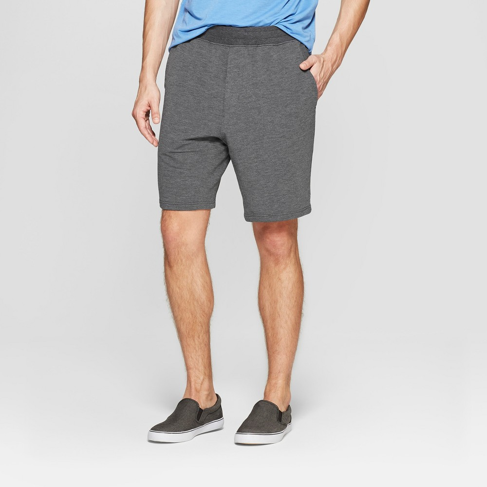 Mpg Sport Men's Knit Shorts - Smoke Gray XL