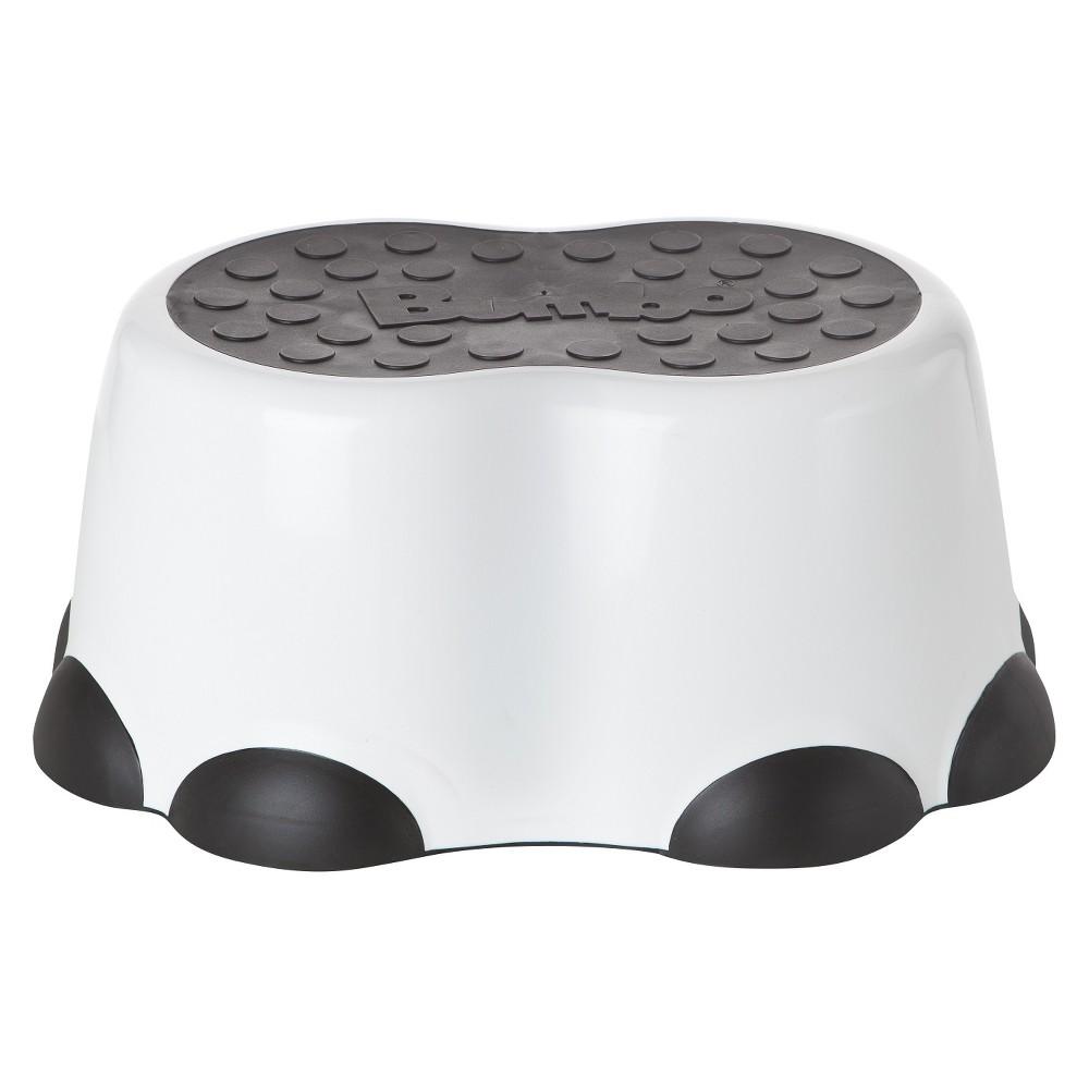 Bumbo Step Stool -White & Black, White