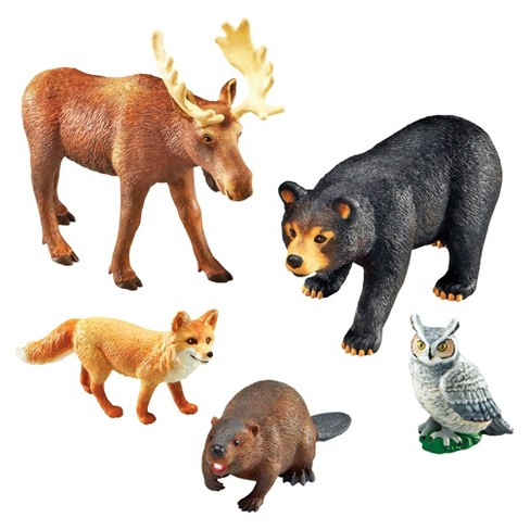 Learning Resources Jumbo Forest Animals - image 1 of 3