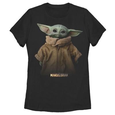 Women's Star Wars The Mandalorian The Child Jacket T-Shirt