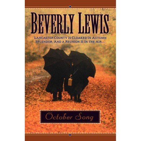 October Song - by  Beverly Lewis (Paperback) - image 1 of 1