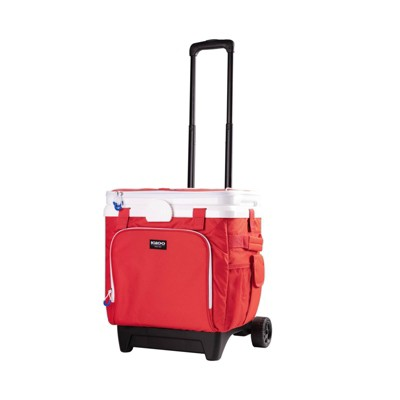Igloo Cool Fusion 36qt Roller Cooler - Red