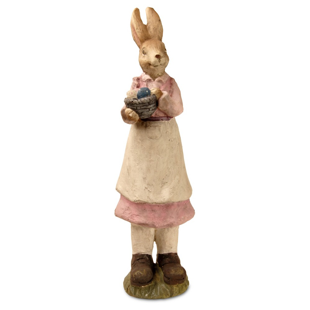 "Image of ""22"""" Garden Accents Rabbit Statue Pink - National Tree Company"""