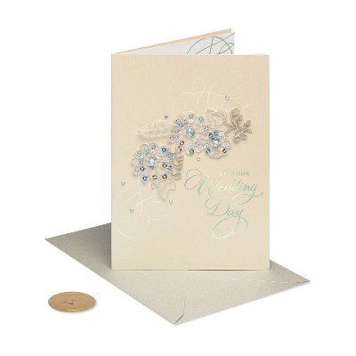 Floral Applique Card - PAPYRUS