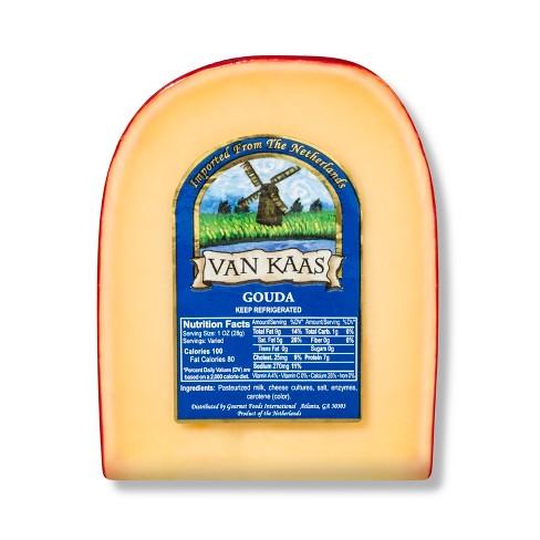 Van Kaas Gouda Cheese Wedge - 7oz - image 1 of 3