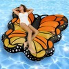 Swimline Giant Monarch Butterfly Inflatable Ride On Pool Float Lounger   90455 - image 4 of 4