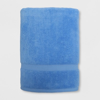 Perfectly Soft Solid Bath Sheet Placid Blue - Opalhouse™