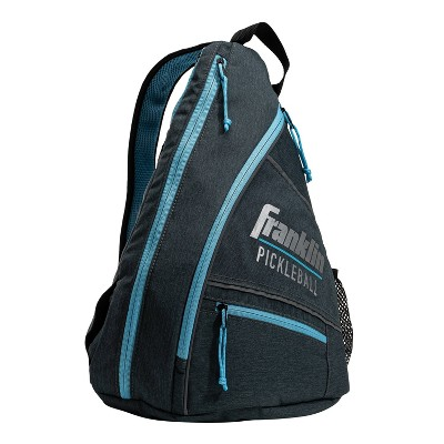 Franklin Sports Pickleball Elite Performance Sling Bag - Gray/Blue