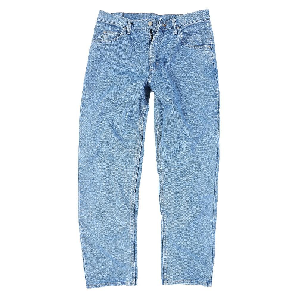 Wrangler Men's Big & Tall Jeans Lite Blue 54X32