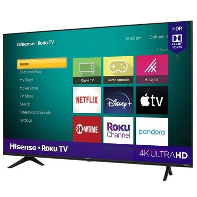 "Hisense 50"" Class R6 Series Roku 4K UHD Smart TV (R6090G)"