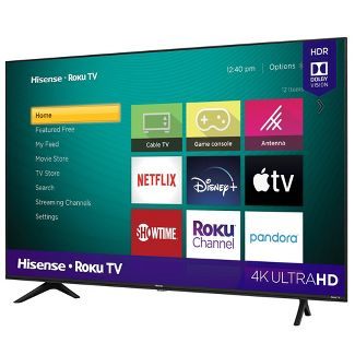"Hisense 50"" Roku 4K UHD HDR Smart TV (R6090G)"