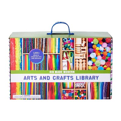 Kid Made Modern 1000pc Arts and Crafts Library