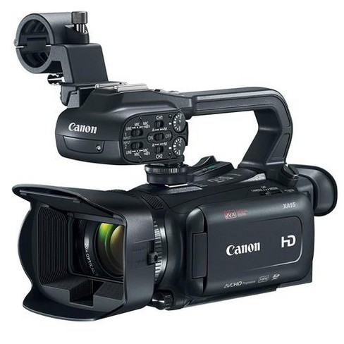 Canon XA15 Professional Camcorder with HDMI terminal and an HD-SDI interface - image 1 of 4