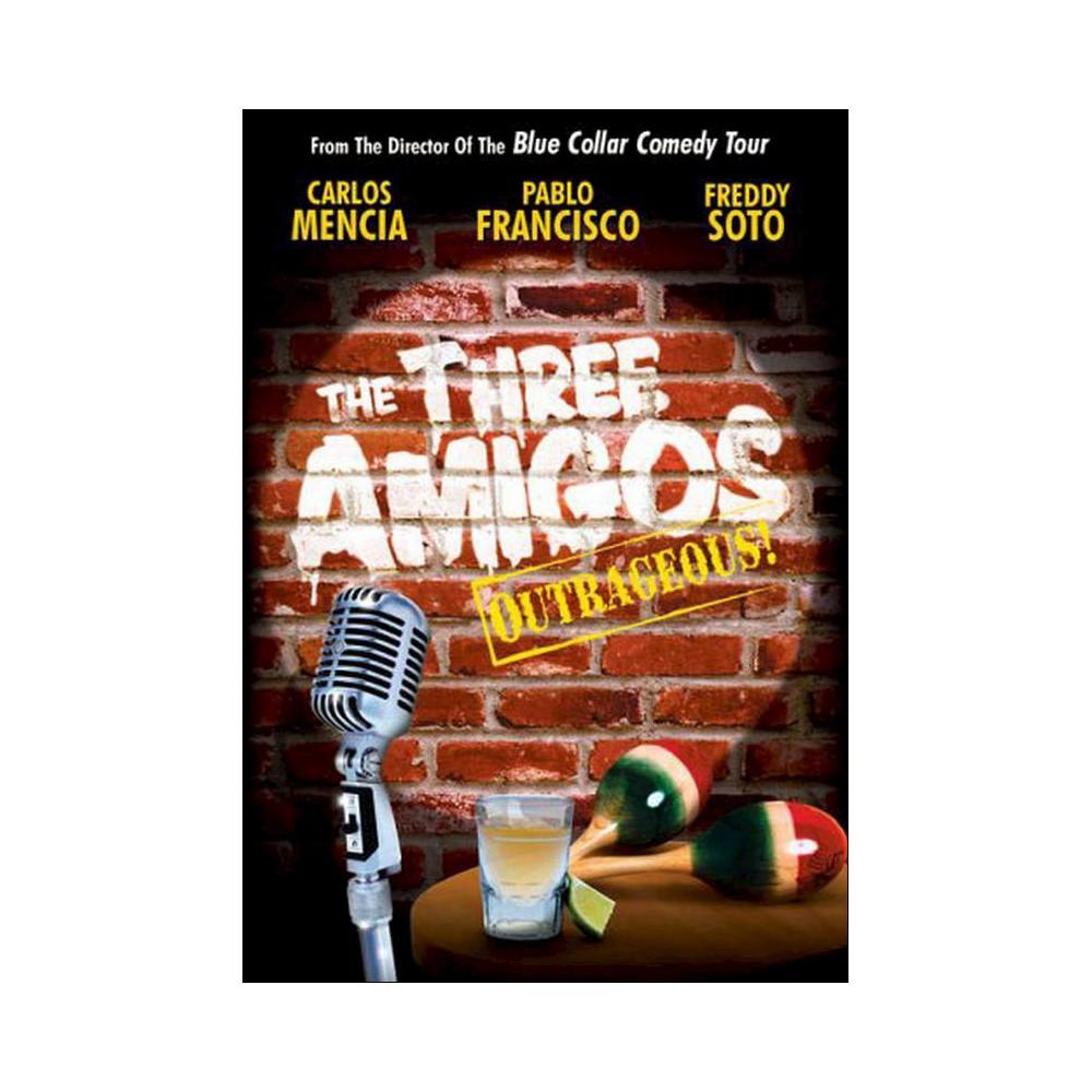 Three Amigos:Outrageous! (Dvd)