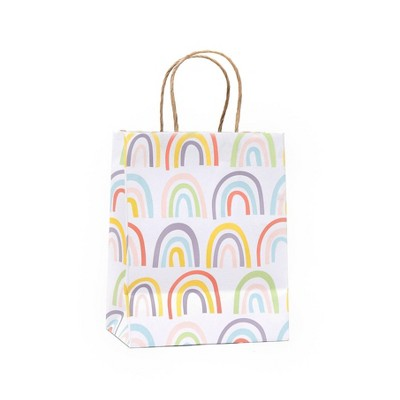 Small Recycled Paper Rainbow Gift Bag - Spritz™