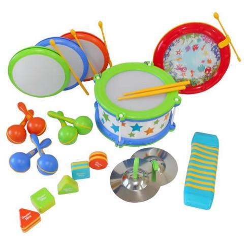 Edushape Classroom Rhythm Instrument Set - Set of 15 - image 1 of 3