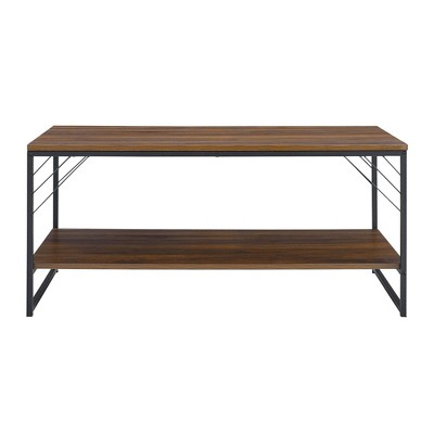Industrial Metal Accent Coffee Table - Saracina Home