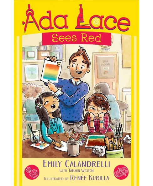 Ada Lace Sees Red -  (Ada Lace Adventures) by Emily Calandrelli (Hardcover) - image 1 of 1