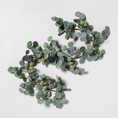 72  Faux Garland Eucalyptus with Seeds - Hearth & Hand™ with Magnolia