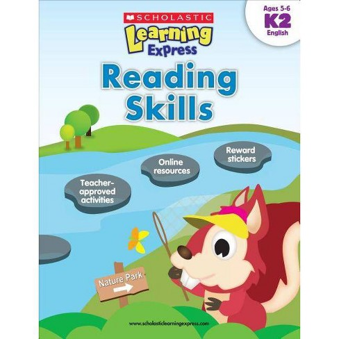 Reading Skills K2 - (Scholastic Learning Express) by Inc Scholastic  (Paperback)
