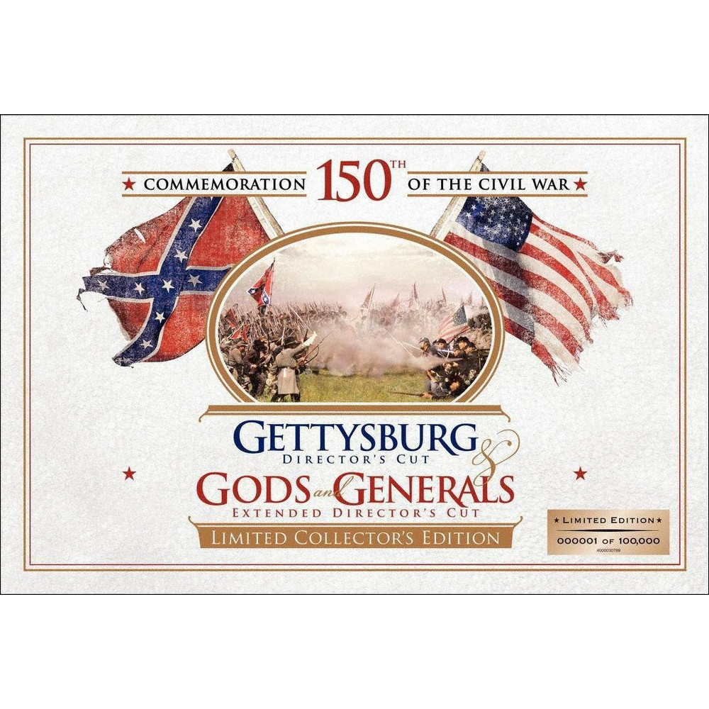 Gettysburg/Gods And Generals Ltd Ce (Dvd)