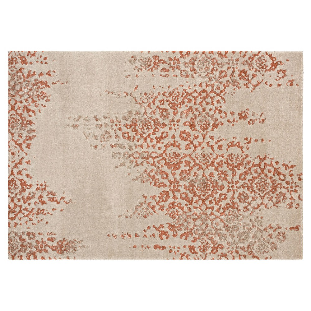 Image of 5'X7' Holly Area Rug Dark Peach - Balta Rugs, Beige Orange Brown