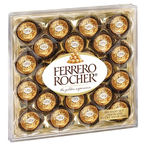 Ferrero Rocher Fine Hazelnut Chocolates 24ct Target