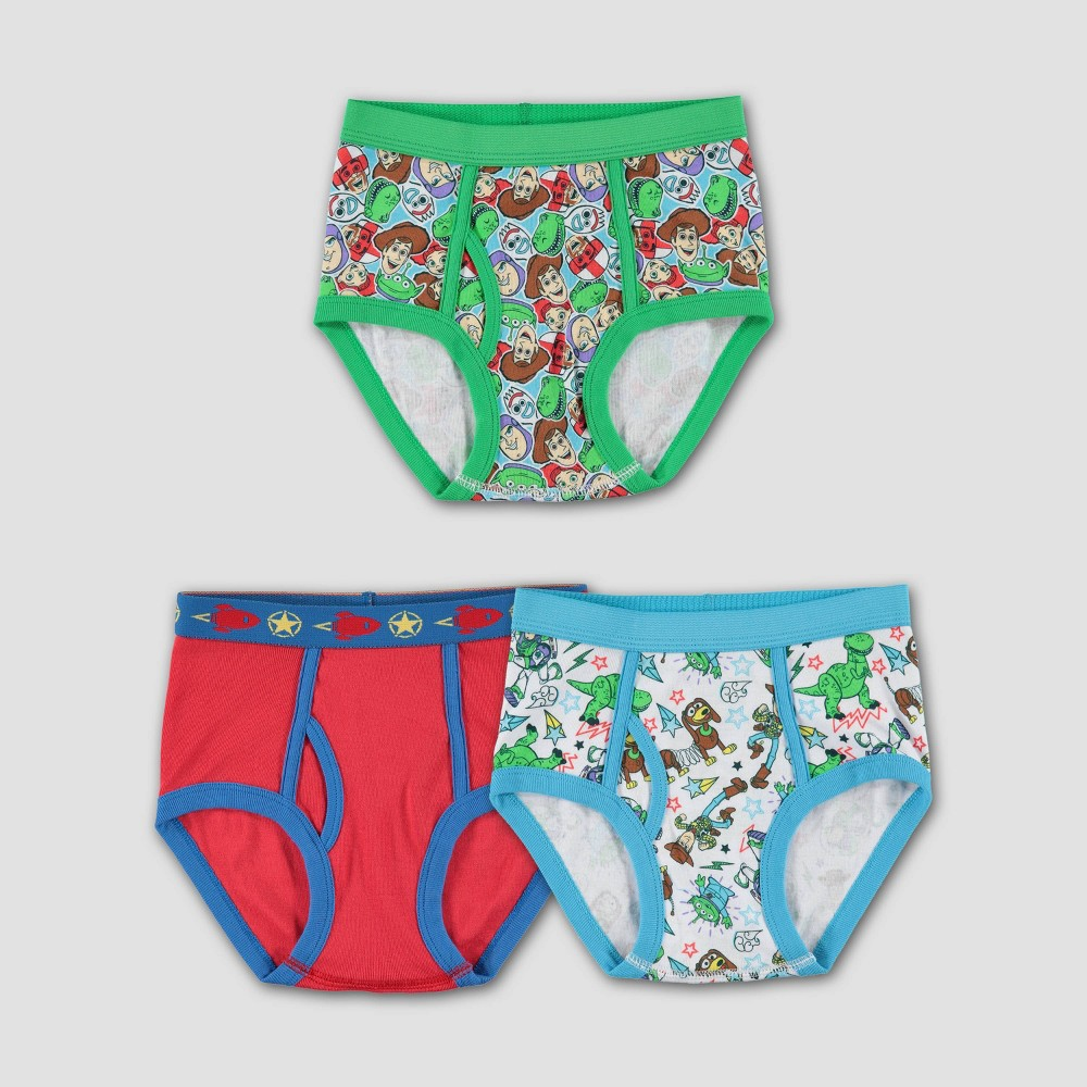 Image of Boys' Toy Story 3pk Underwear - 4, Boy's, MultiColored