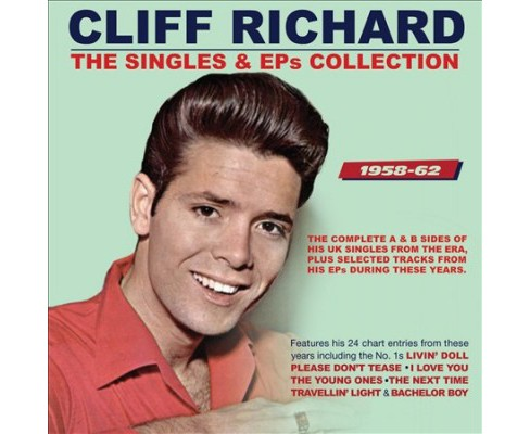 Cliff Richard - Singles & Eps Collection:1958-1962 (CD) - image 1 of 1