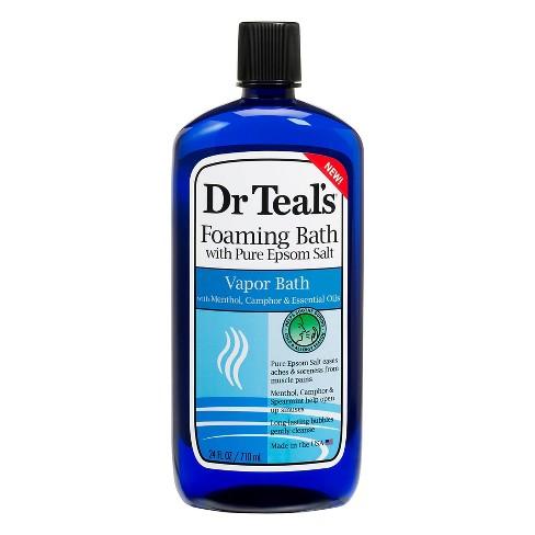 Dr Teal's Cool Vapor Foaming Bath - 24 fl oz - image 1 of 3