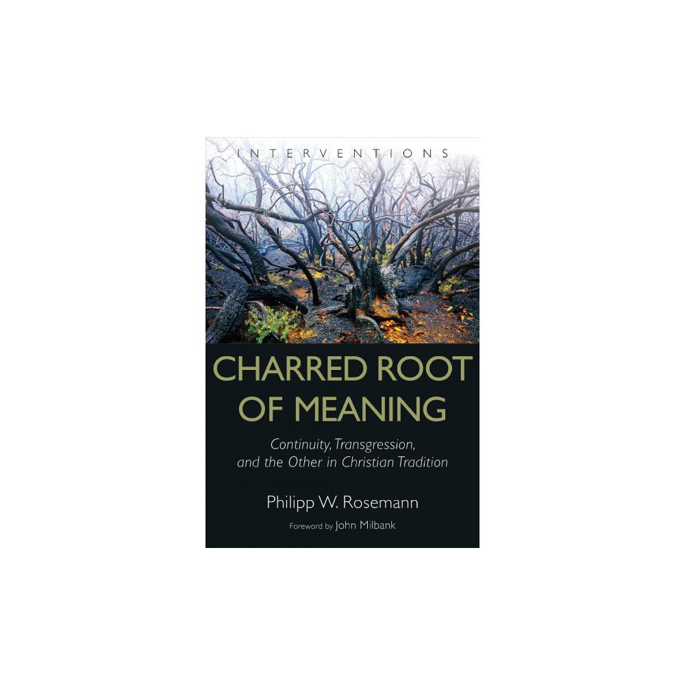 Charred Root of Meaning : Continuity, Transgression, and the Other in Christian Tradition - (Hardcover)