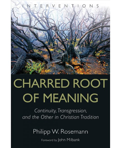 Charred Root of Meaning : Continuity, Transgression, and the Other in Christian Tradition -  (Hardcover) - image 1 of 1