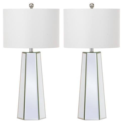 Janice Clear Glass Table Lamp Set Of 2 Safavieh Target