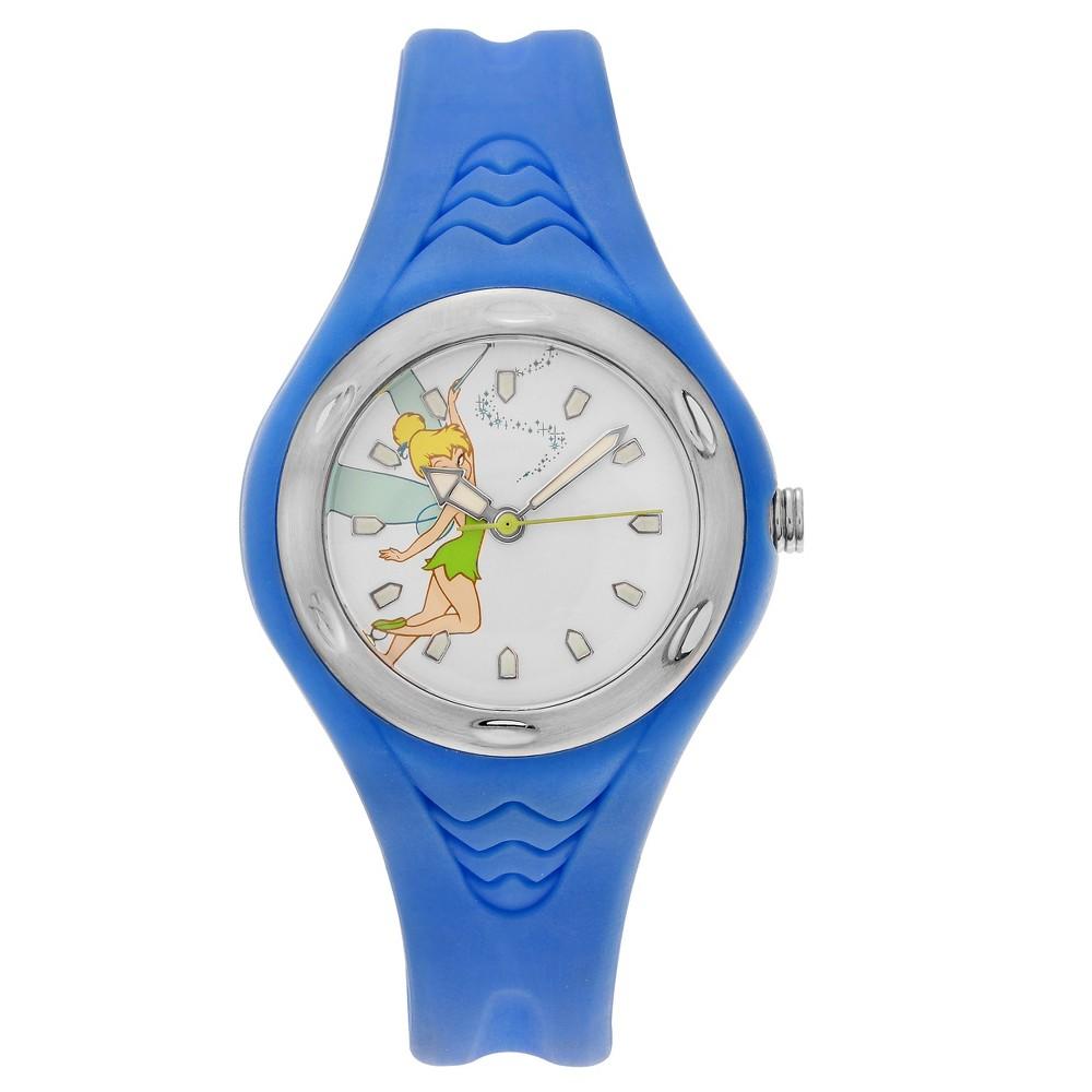 Women's Disney Tinkerbell Dial Strap Sport Watch - Blue