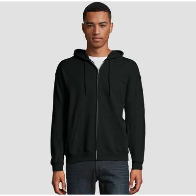 Hanes Men's EcoSmart Fleece Full-Zip Hooded Sweatshirt