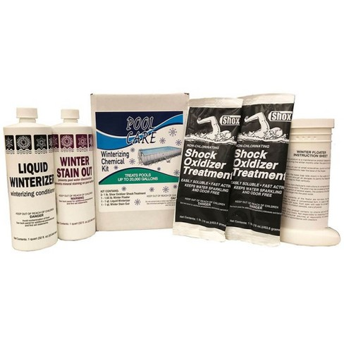 Pool Care 57620 20,000 Gallon Swimming Pool Winterizing Chemical Clean Kit - image 1 of 3
