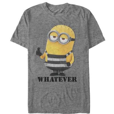 Men's Despicable Me 3 Minion Whatever Prisoner T-Shirt